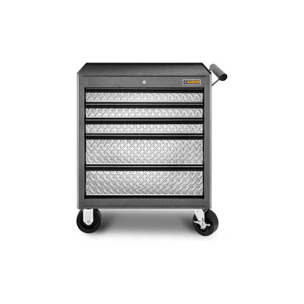 Carrello porta utensili 5 cassetti Garage Mania GATR27V5WG