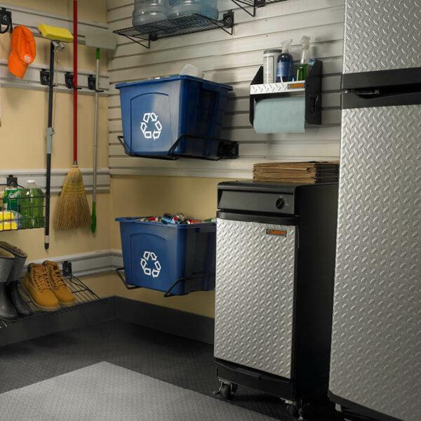 Mensola porta rotolo GAWU12CCTG installazione Garage Mania