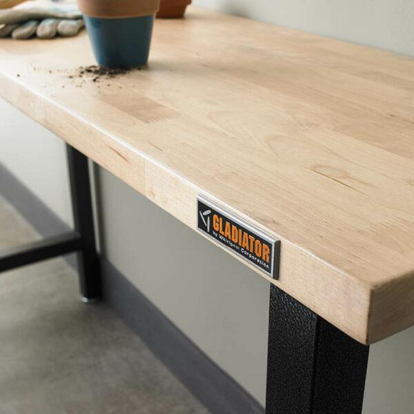 Piano di lavoro in legno Hardwood