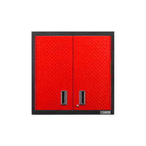 Armadietto rosso a parete con due ante Garage Mania GAWG302DDR
