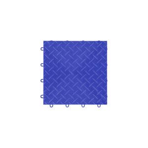 GWE48RBL Piastrella Pavimento Garage Diamond Royal Blue - Garage Mania