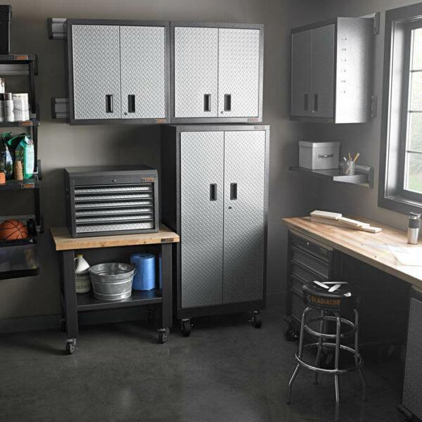 Installazione Armadietto a parete GAWG302DRG Garage Mania