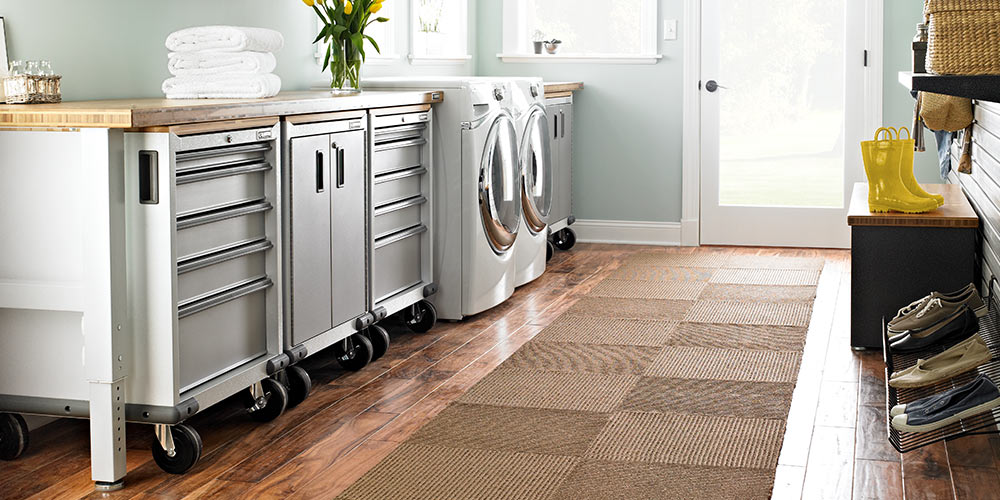 Crea la tua lavanderia personalizzata con i prodotti Garage Mania